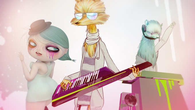 The big question: should Goldie Foxx use his keytar on stage?
