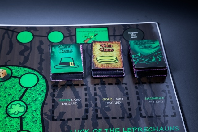 Prototype cards shown