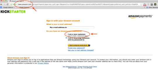 """支払いはamazon.comになります。日本にお住まいだと通常はco.jpのアカウントしか持たれていないかと思いますので.comのアカウントを作る必要があります。したがって""""I'm a new customer""""をここでは選択してください。"""