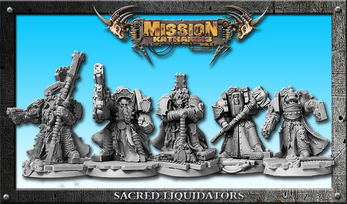 Sacred Liquidators squad
