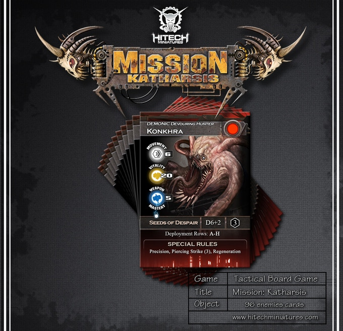 Enemy cards