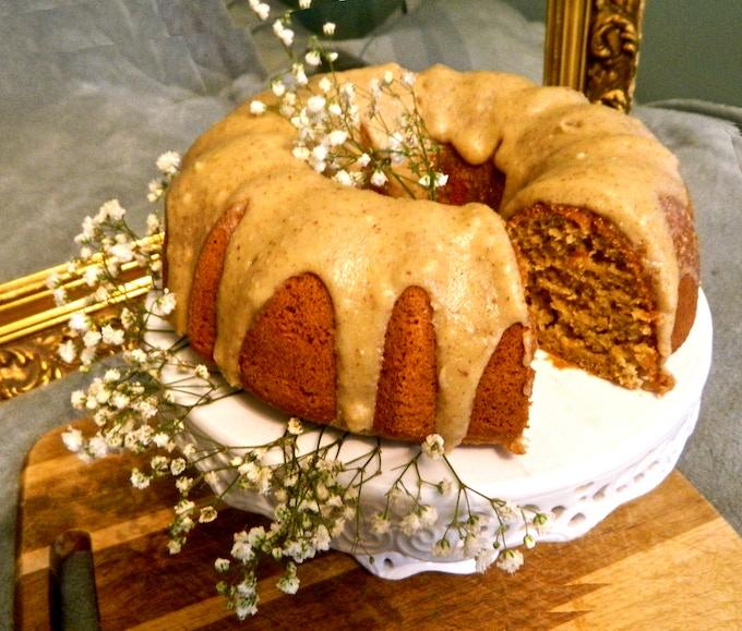 Orange Rosemary Cake