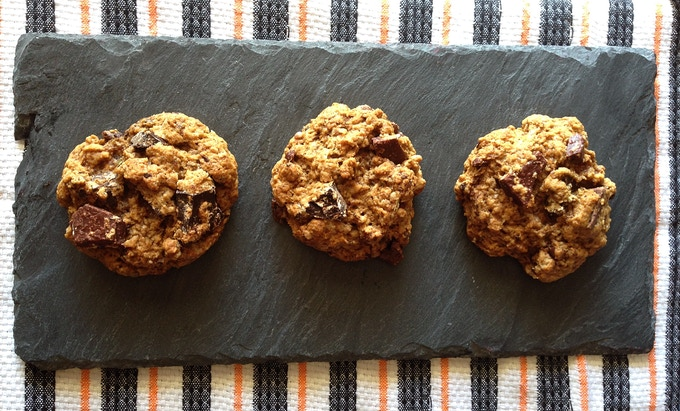 Lemon Verbena Choco Chip Cookies
