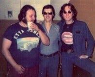 Ron with John Lennon & Steve Madaio