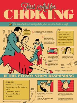 Portland artist Grey Jay's Tango-themed Choking poster