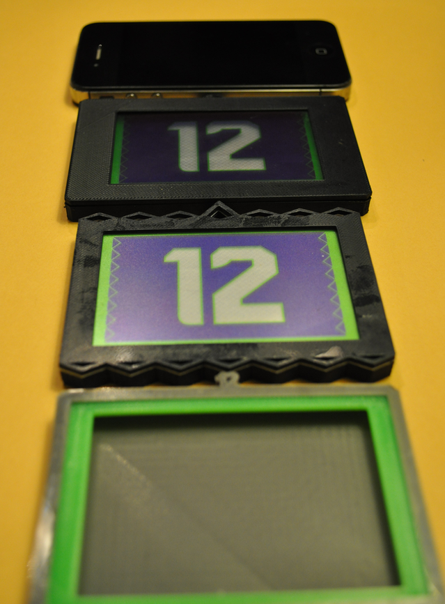 Shine12! Bright LED Light Badges to support Seattle Seahawks