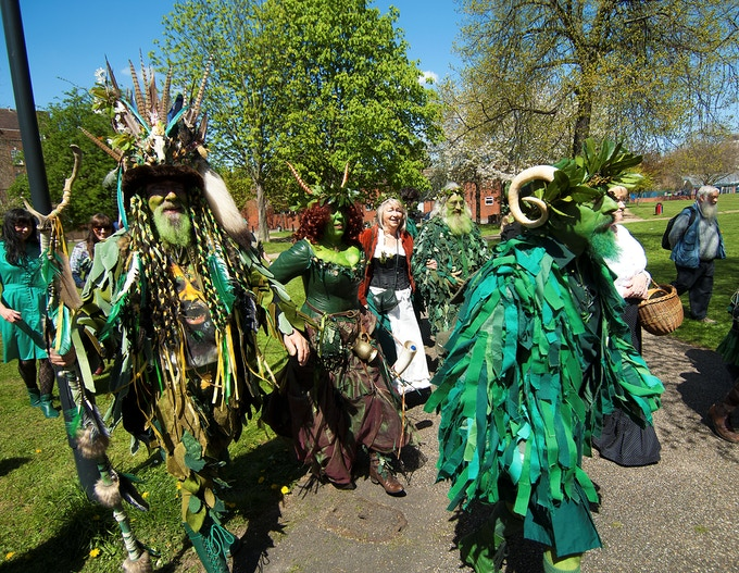 The Deptford Jack in the Green May Day procession