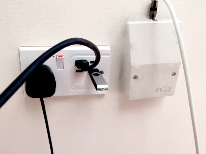 It's a Lambda in a wall socket. That's why we call it the Lambda Socket for now.