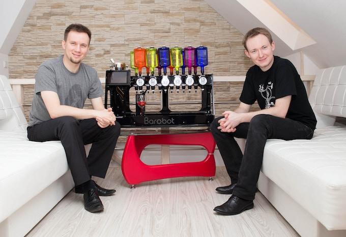 Konrad and Artur - Barobot team leaders