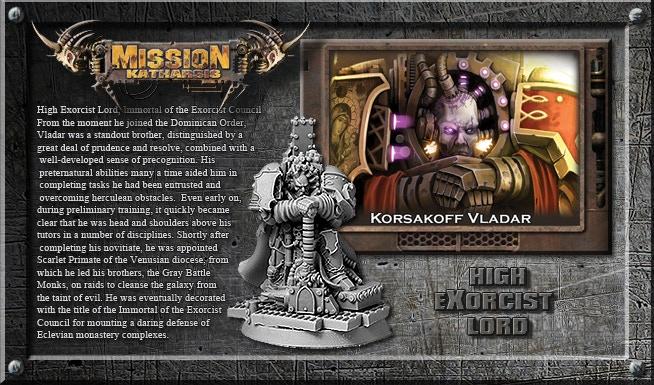 Vladar Korsakoff - High Exorcist Lord