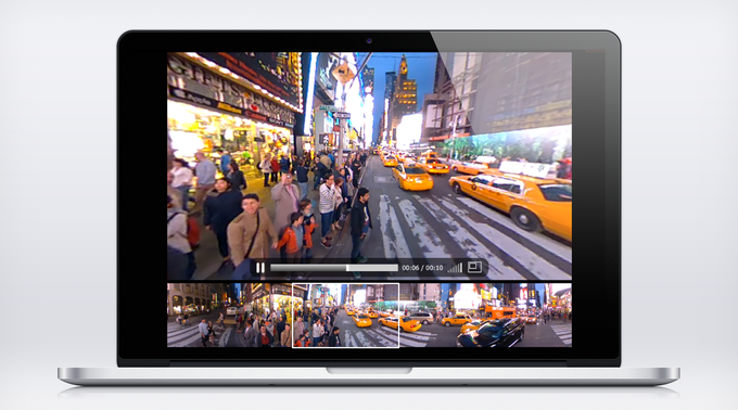 Click and interact to look up, down and all around. Create your own experience. Available on Mac & PC