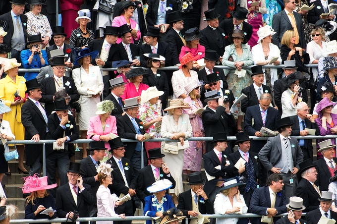 The Parade Ring, Royal Meeting, Ascot Racecourse