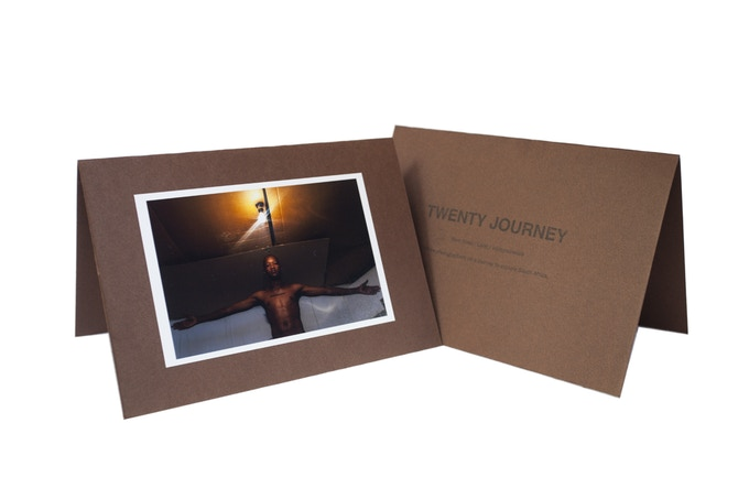 Part of the $25 reward is: Photo (4x6 inches) from one of the three photographers, with Twenty Journey stamp on the back.