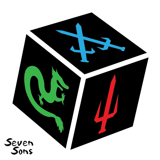 3 Red, 2 Blue, and 1 Green Side per die.