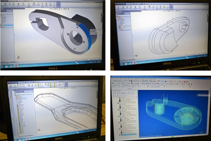 Designing, Modeling, and Machining