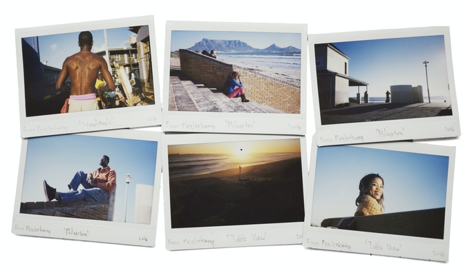 Part of the $250 reward is: Signed one of a kind instant film Fujifilm Instax 2.4 x 3.8 inches from each of the three photographers.
