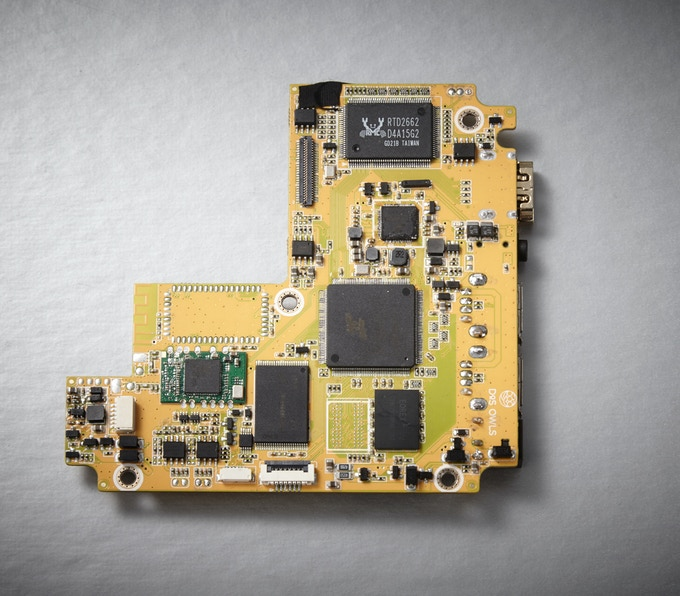 Prototype PCB of the Main Android Board