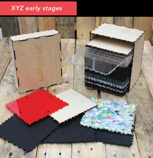 First ever prototype XYZ (formerly Platform)