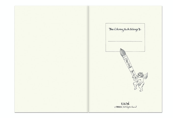 Hotcakes Coloring Book Exlibris Page