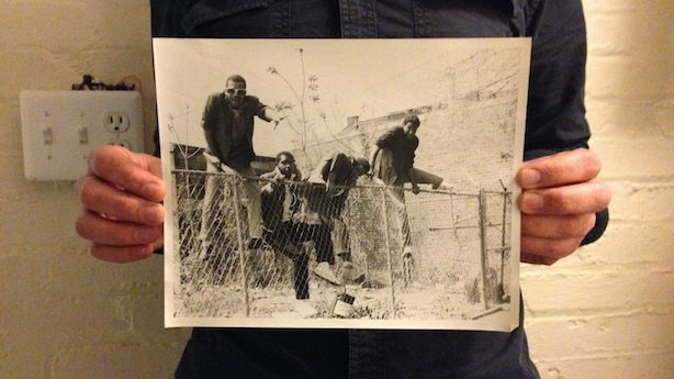 """One of a kind 8 X 10 print of the Bad Brains, 1979. It was taken during the same photo shoot which produced the pic on their first 7 inch, """"Pay to Cum"""". Pic was taken/made by Charley Davis and Paul Bishow."""