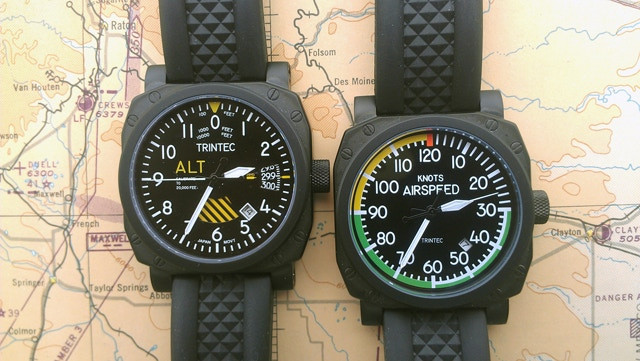 30th Anniversary Altimeter 9060SE & Airspeed 9061SE Watches