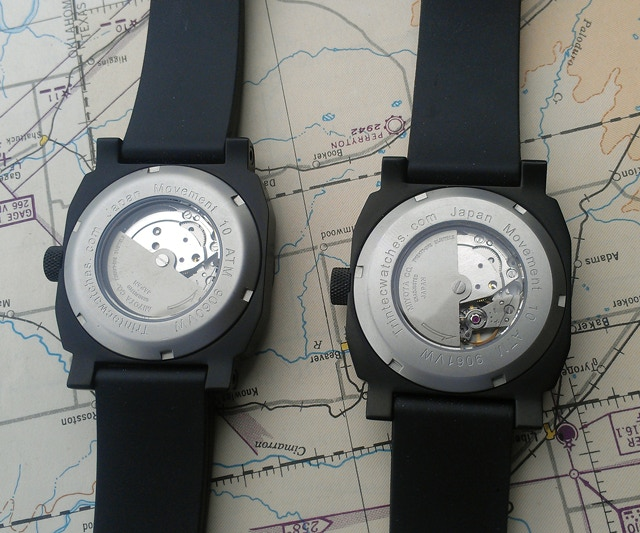 Altimeter & Airspeed Watches - Back