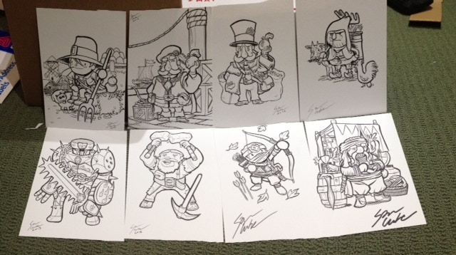 Some original B+W's from Sam!