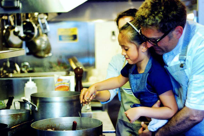 Chef Greg's Cooking Class is perfect for Cousins of all sizes