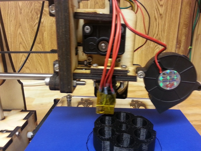 Extruder and Hot end