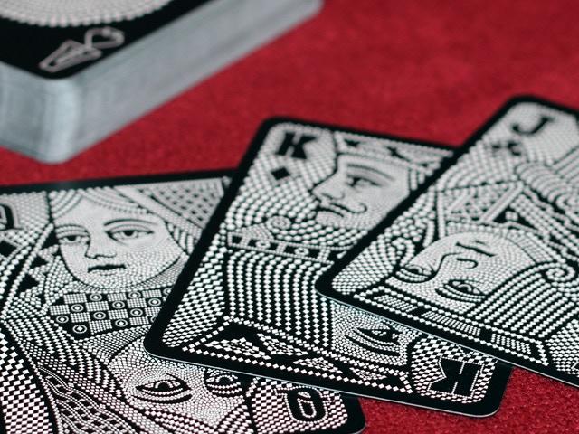 Individually built up cards
