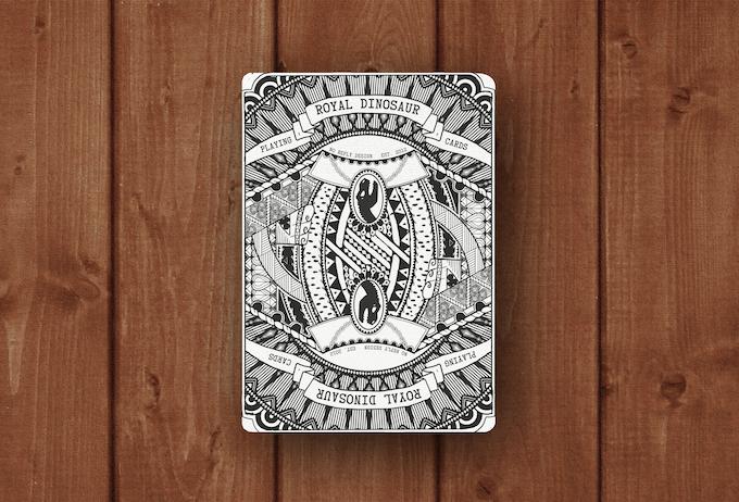 Render of card back.