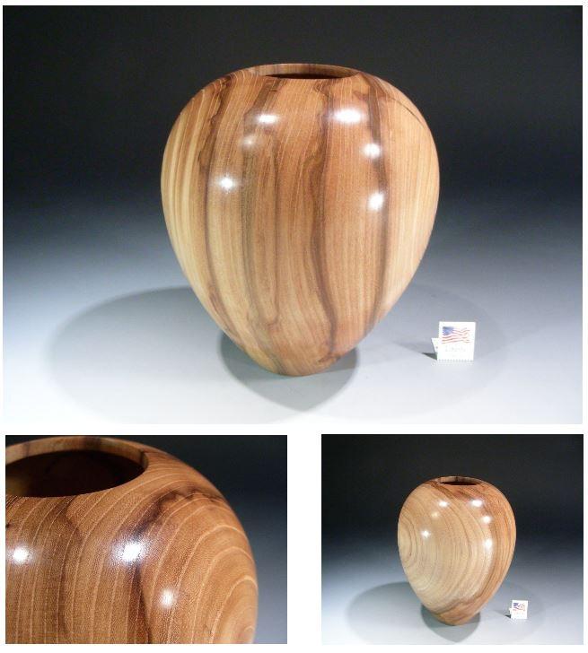 David Walsh, bowlmaker, Fine Wooden Bowls, Ltd  Edition #8