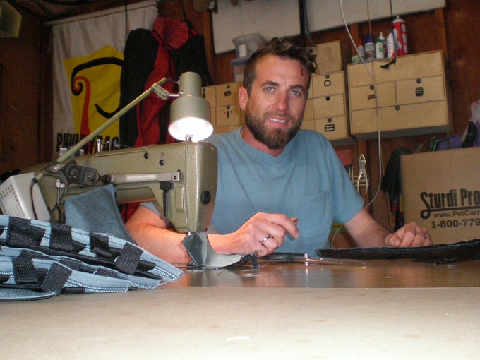 Kenneth, owner of the manufacturing company, Phunnybags