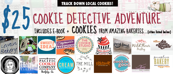 I hand picked some of our nation's most beloved cookie makers for this tasty reward adventure. Click the image to see the bakeries' cities and details...or scroll down.