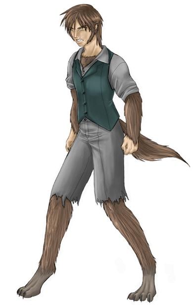 Werewolf playable character