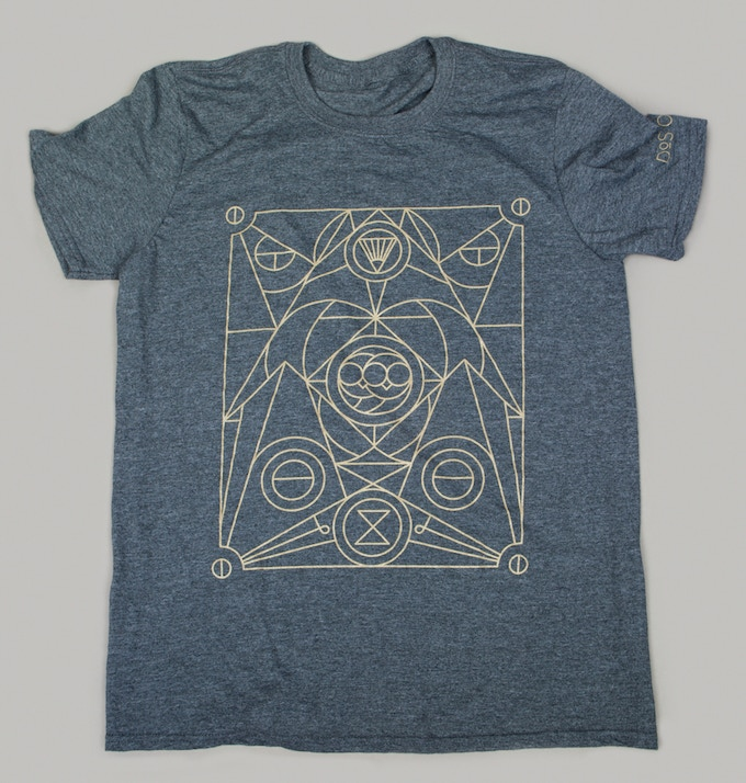 $35 Glow in the Dark T-Shirt. Designed by Artist Michael Boswell.  Gildan Soft Cotton T-Shirt.