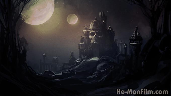 Castle Grayskull concept design by Nate Baertsch