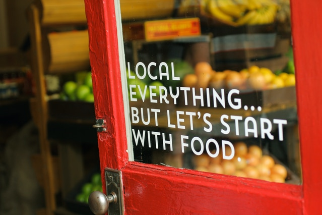 Local First Grocer - Reclaiming our food economy! by Elise