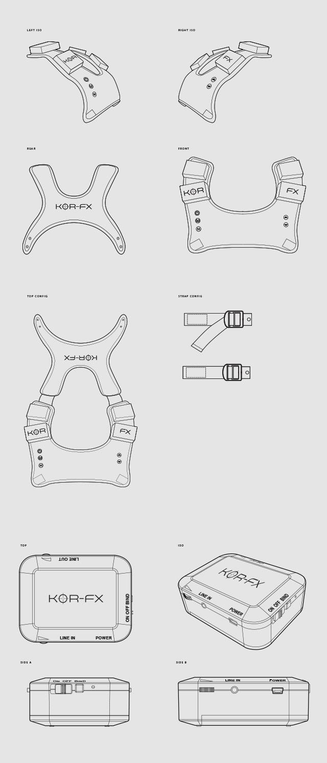 KOR-FX Gaming Vest: 4DFX Haptic Feedback System by KOR-FX