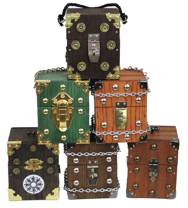 A pyramid of deck boxes!