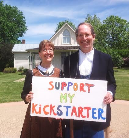 This picture is taken in Eldon Iowa, the home of American Gothic by Grant Wood