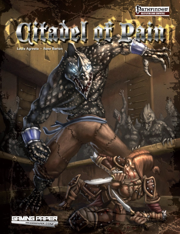 Citadel of Pain Print and PDF $14 (+$4 international).