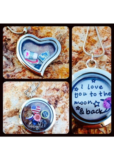 Love You To The Moon And Back Necklace Gif