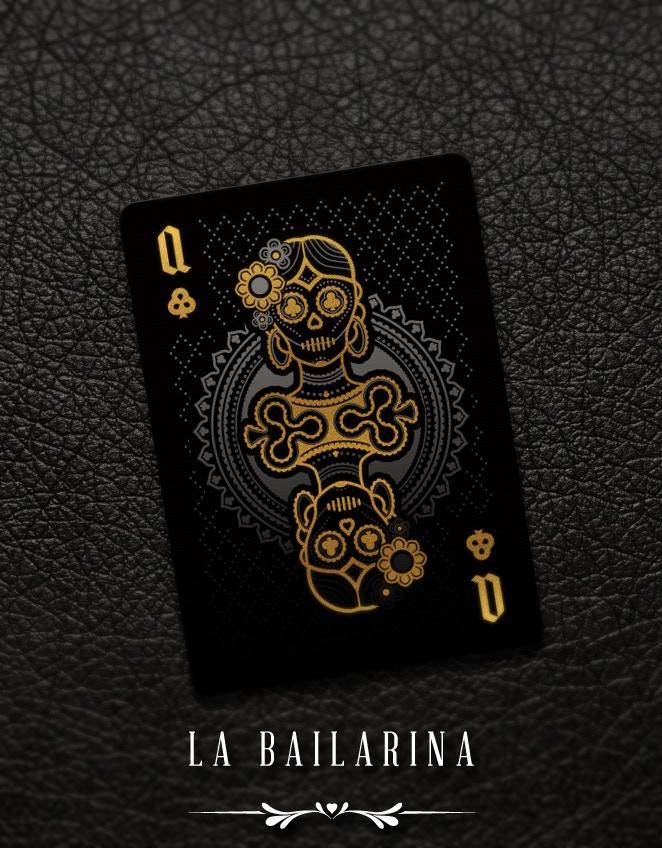 Muertos Queen of Clubs - La Bailarina