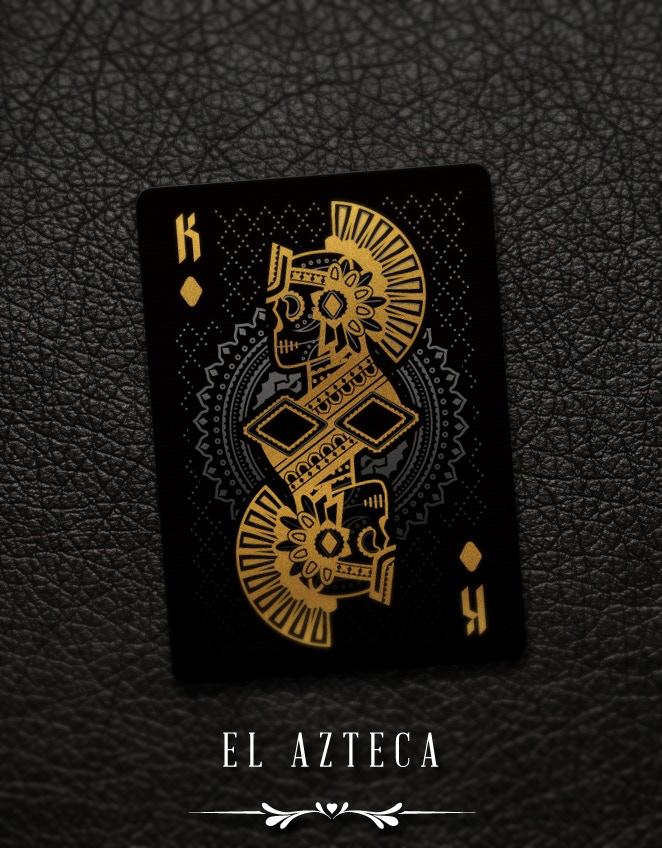 Muertos King of Diamonds - El Azteca