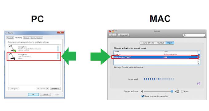 RECAP USB shows as new input source