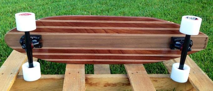 Stringer - Sapele, Maple, Walnut