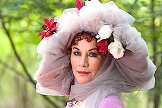 Caroline Williams as the Angel of Dreams