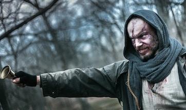 Joe Zaso as the Gravedigger of Dreams