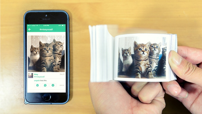 Transform your videos and animated gifs into flipbooks!